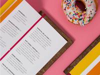 candycake menu