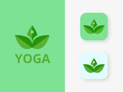 YOGA Logo Design I Modern Logo yoga logo