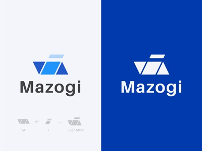 Mazogi Logo Branding I Real Estate Logo graphic design colorful logo logo creative logo modern logo luxury real estate logo logo designer logo design branding branding design brand identity real estate logo real estate