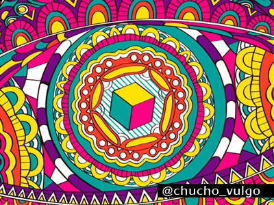 Colorfull colorfull color colour vectors vectorizer cube lines forms circles