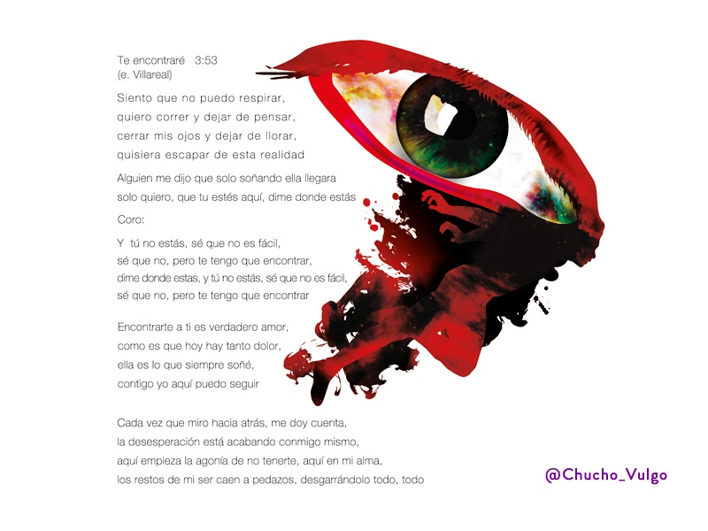 """Flying"" eyes surrealism fly music poem"