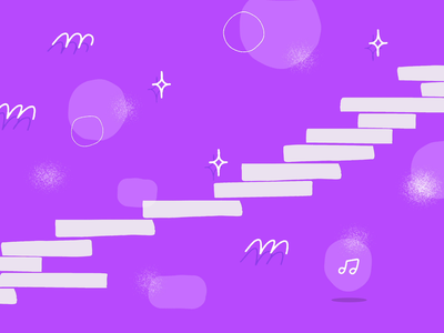 MotionBites.com banner purple digital illustration graphic design bezier path hands animation motion graphics motion bites motion design illustration design after effects motion graphics after effects animation after effects adobe
