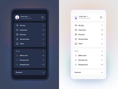 Task manager app UI Design uxui ui design design dailyuichallenge dailyui uxdesign uidesign uiux ui microsoft keep trello to-do todo task manager task