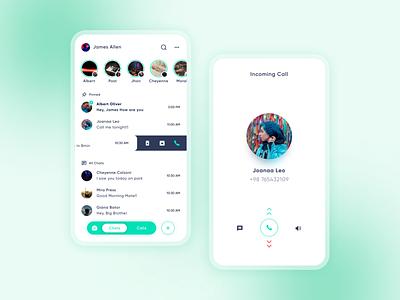 WhatsApp  UI redesign concept ui design uiux design dailyuichallenge uidesign dailyui ui phone call chatting chat app whatsapp redesign whatsapp