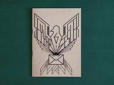 Seyyar Sesler 6 Fanzine / Cover cover logo typo poetic mailbox letter post office bird mail type seyyar sesler fanzin istanbul font zine editorial design underground fanzine typography