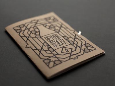 Seyyar Sesler 4 Fanzine / Cover islamic design book cover mineral water type seyyar sesler illustration editorial design zine fanzine underground typography istanbul
