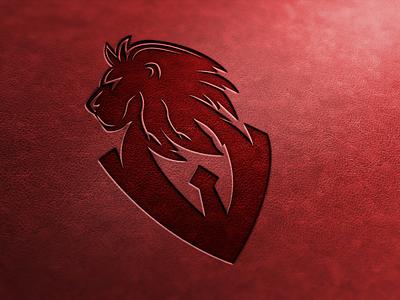 "Logo for ""Soviet lion"" design art designer graphic graphic design logo design drawing good logotype good logotype clothes minimalismus black red style logo to skin skin design logo"