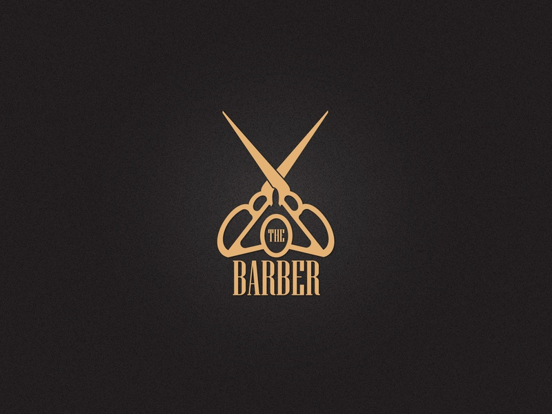 BARBER SHOP LOGO 13/50 creative logo scissors salonlogo barbershop logo barbershop logomaker logodesign illustrator art typography branding dailylogochallenge dailylogodesign vector logo illustration design