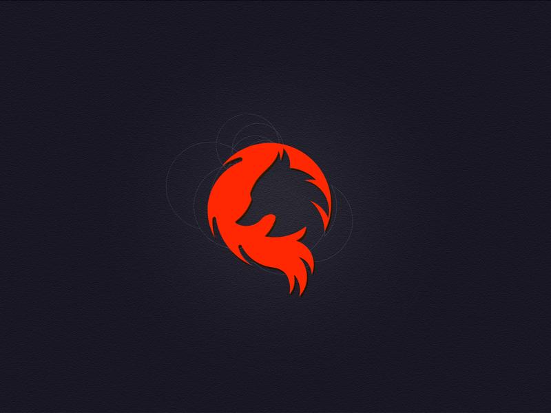 Fox Logo 16/50 creativelogo foxof fox negative space logo cirlcegrid negativespace foxlogo illustrator dailylogo logomaker branding dailylogochallenge dailylogodesign vector logo illustration design