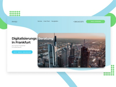 Digitalagentur Frankfurt enterprise webdesign design landingpage consulting frankfurt digital agency