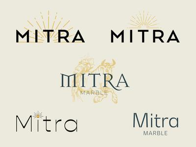 Mitra marble sun ancient logo design identity design idenity brand identity design branding design brand brand identity brand design vector branding logo design