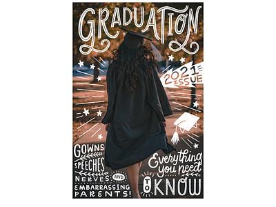 GRADUATION school graduation drawn by hand procreate photography hand drawn typography hand drawn type handlettering art doodling illustration freelance illustrator design