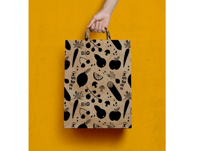veggie pattern 2 repeating pattern pattern design surface design pattern drawn by hand branding hand drawn type procreate handlettering hand drawn illustration design freelance illustrator