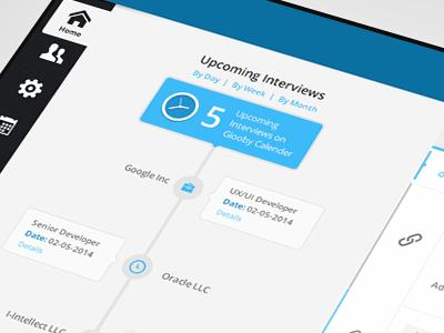 Jobs Portal Dashboard job portal dashboard ux ui