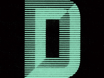 Linear Bevel trashed photocopied beveled mint texture text type linear