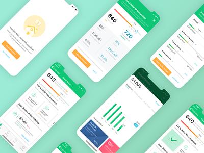 Concept Design of Mint intuit financial mint prototype concept visual interaction mobile