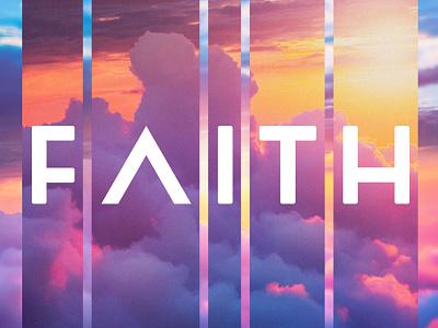 Faith faith design photoshop post-production branding