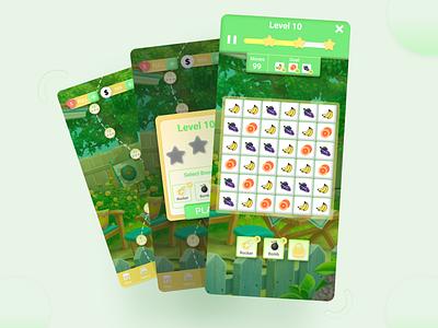 Puzzle Games ux design ui design puzzel games games uiux ui design app application app design uidesign