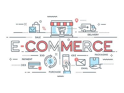 How to Choose the Best Ecommerce Hosting Provider? design wpoven branding vector illustration ecommerce store