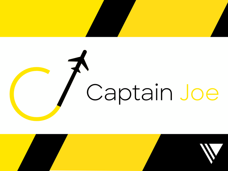 Captain Joe Branding Redesign minimal flat typography icon illustration branding design branding and identity vector design branding