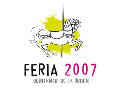 Logotipo Feria Quintanar de la Orden, 2007 logotipo logotype ferias y fiestas