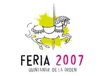 Logotipo Feria Quintanar de la Orden, 2007