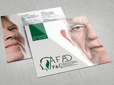 Flyer: AFAD flyer bi-fold squared