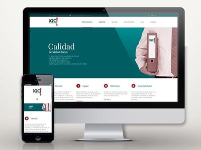 Web: IGC Tax & Services portfolio services tax desing web gestor