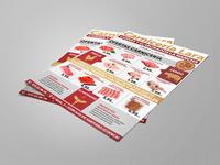 Flyer Carnicería | Butcher Flyer