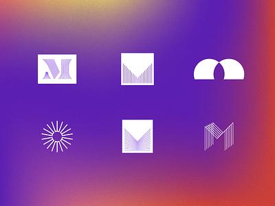 M Marks sun m icons mark logo