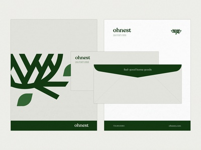 Ohnest Stationery