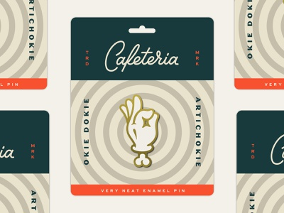 Cafeteria Package merch cafeteria package enamel pin