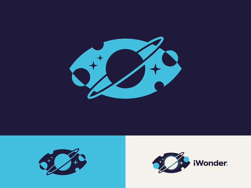 Virtual Reality Space Experience mark logo science saturn virtual reality vr outerspace stars space planets planet eye
