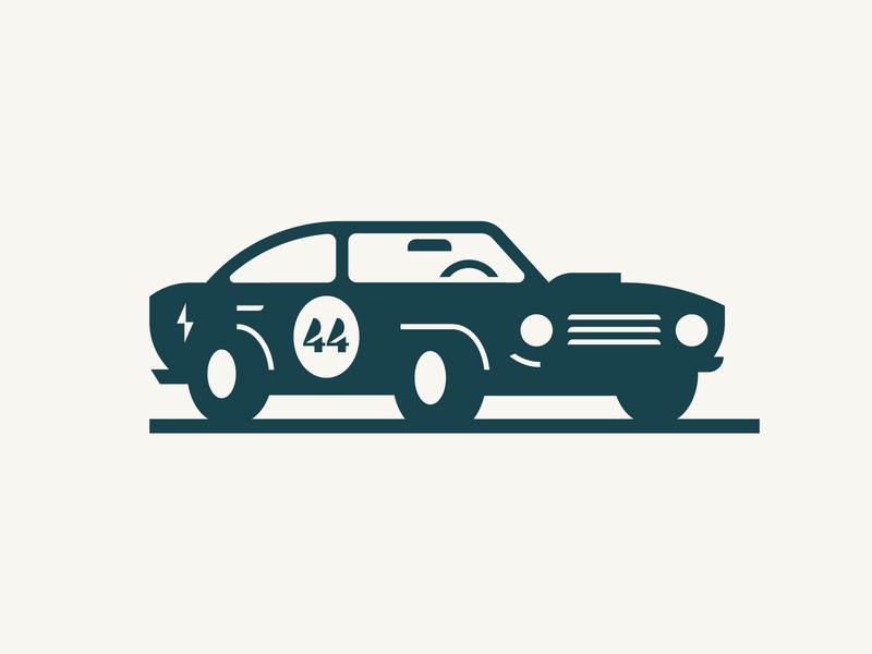 *VROOM* logo hot rod vintage greaser racecar race car car