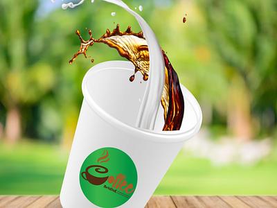 3D Coffee Cup Illustration illustrations graphics design illustration art 3d animation 3d art ilustration 3d flat illustrator animation minimal branding vector illustration design