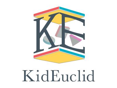 Kid Euclid  logo branding website
