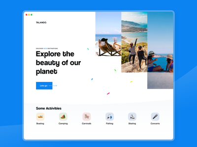 Travel website travelwebsite website website design webdesign web travel typography inspiration dribbble uiuxdesign uxdesign minimal uiux uidesign dailyui ui ux design