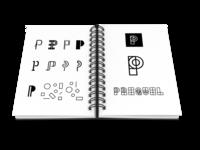 "Logo Process for ""Prequel"""