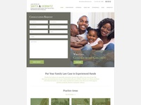 Law Office of Smith & Horwitz Website Mockup