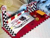 Speed Racer Event for Children.