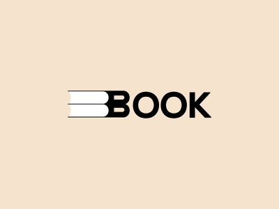 Book logo wordmark book logo wordmark logo vector branding illustration design logo minimal logos book logo design book logo