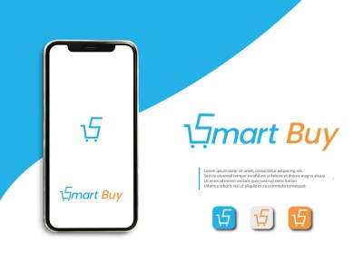 Smart Buy Logo logotype app logo design cart icon s brand vector minimal illustration coloring logo shopping app shop logo wordmark buy logo wordmark logo cart logo app logo icon branding buy logo design logo