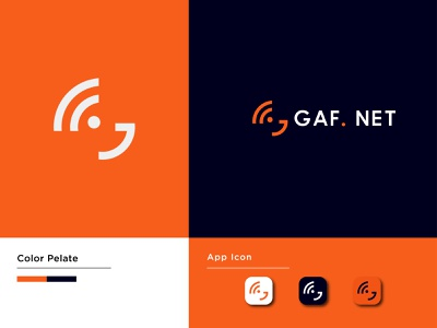 G Net logo best logo 2021 best wifi logo best logo g wifi wifi logo g letter logo color pelate wifi icon g app icon logo creative logo icon wordmark logo coloring logo vector minimal illustration branding design logo