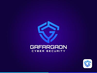 Security Logo GSC creative logo security app icon logo gafargaon logo wordmark logo icon coloring logo vector minimal illustration branding design logo gafargaon security system