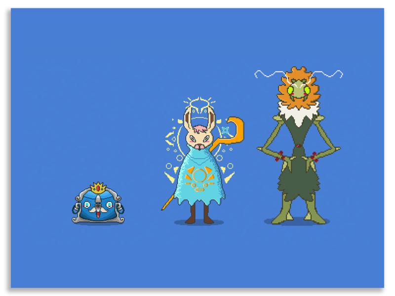 👾Pixel arts/Characters 👾 3/3 pixel pixelart ilustracion illustrationforsale digital artwork design digital art characterdesign illustration artwork