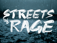 Streets of Rage Brush Lettering Dribbble
