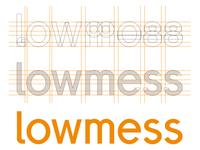[WIP] lowmess Wordmark v2