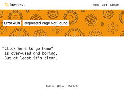 Haiku Error Page [WIP] those magnets with words on them haiku tachyons hero patterns super orange orange