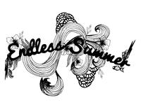 Surf illustration doodle