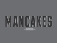 Mancake logo study